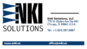 Enki Business Card